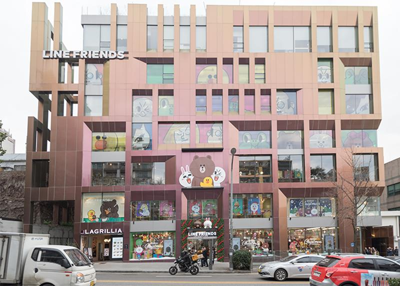 LINE FRIENDS Store (Itaewon Flagship)_1