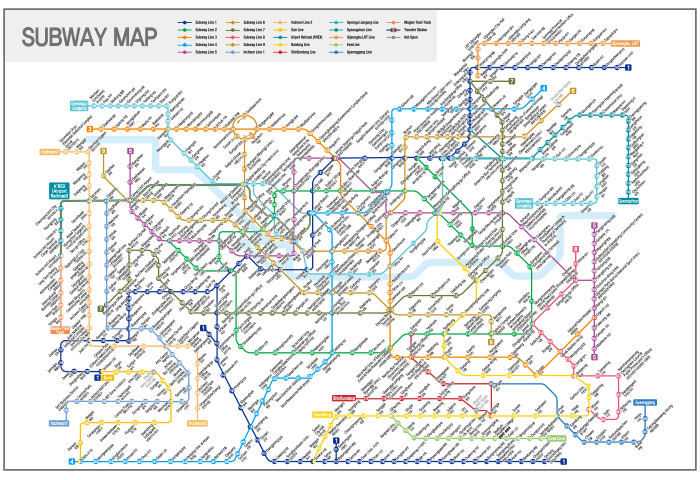 Korean Subway Map English.Visit Seoul Transportation The Official Travel Guide To Seoul