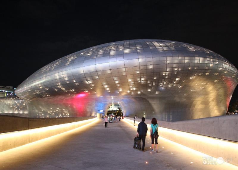 Afbeeldingsresultaat voor Dongdaemun Design Plaza