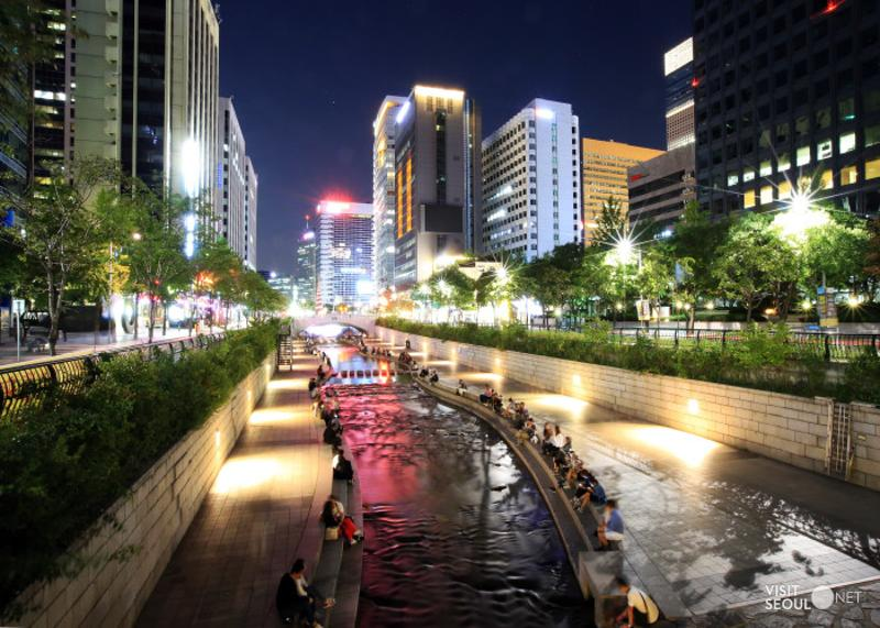 Cheonggyecheon Stream_1