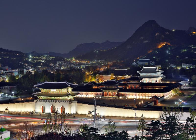 Gyeongbokgung Palace : Nighttime Viewing 2019_2