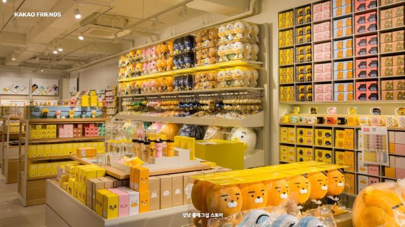 Kakao Friends Store | Things to do in Gangnam