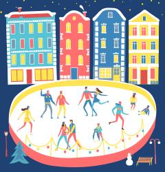 Dec 21 - Feb 10<br> Skate in Seoul's most popular winter attraction.