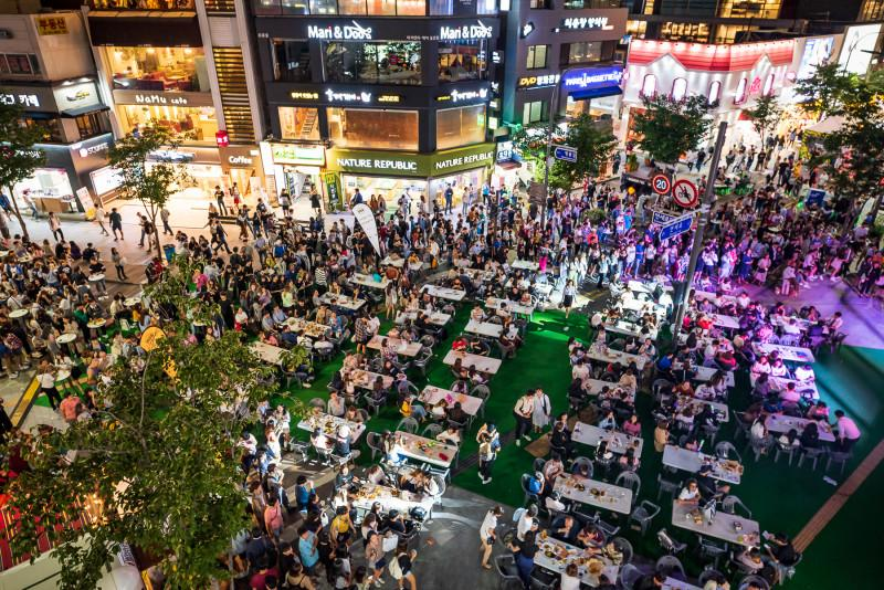 Image result for sinchon beer festival