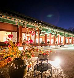 Check out the unique palace cuisine & culture program.