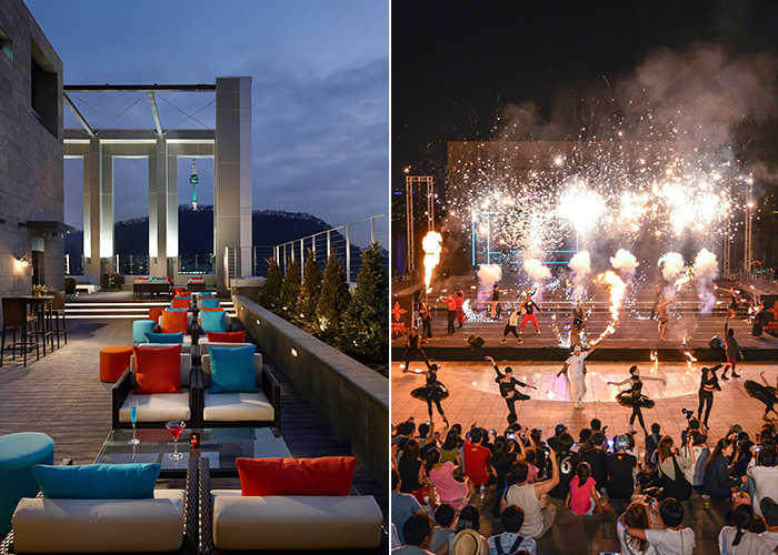 Nightlife and Night Views in Sizzling Seoul