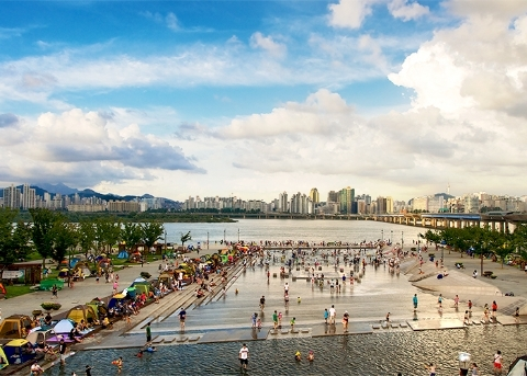 Summer Fun at Hangang River